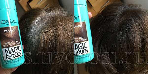 лореаль спрей для окрашивания корней волос отзывы