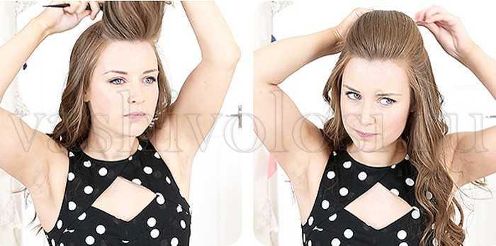 Волны на длинные волосы