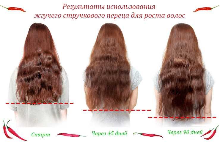 Жгучий стручковый перец для роста волос